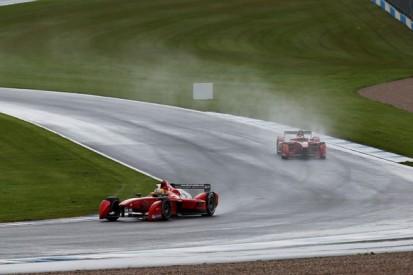 Formula E teams complete shakedown at Donington Park