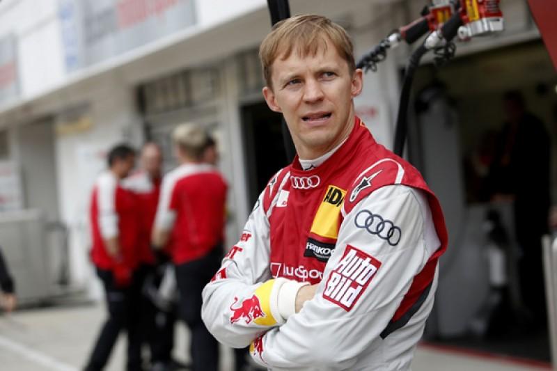 Audi DTM star Mattias Ekstrom's World Rallycross team in Hell debut