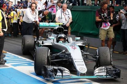 Nico Rosberg almost had to retire from F1 Australian GP - Mercedes