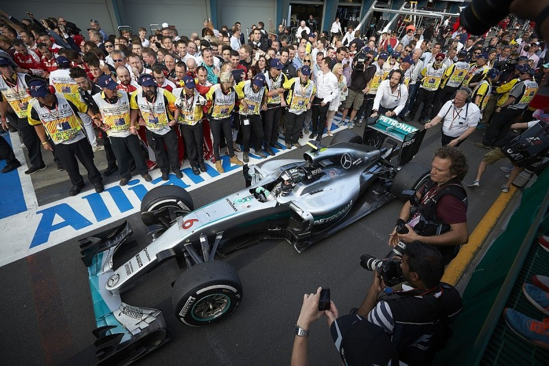 Rosberg thought Mercedes' Melbourne-winning strategy was a 'gamble'