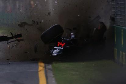 Fernando Alonso escapes horrific crash with Esteban Gutierrez