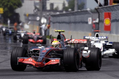 Hamilton's promotion to F1 for 2007 was a shock inside McLaren team