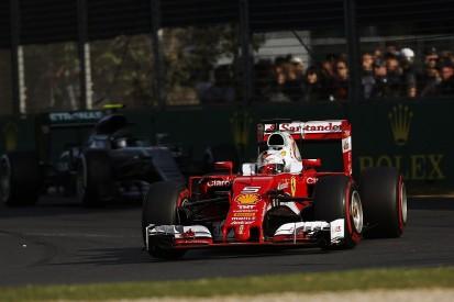 Ferrari F1 team was confident of Australian GP win before red flag