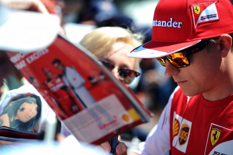 Kimi Raikkonen says he's just been unlucky in Ferrari F1 return