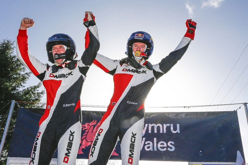 Elfyn Evans wants to fight for 2018 WRC title after Rally GB win
