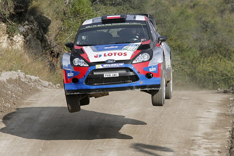 Robert Kubica to retain new cautious approach to WRC in Sardinia