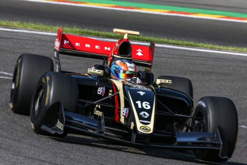 Spa FR3.5: Lotus team miscalculation cost Richie Stanaway podium
