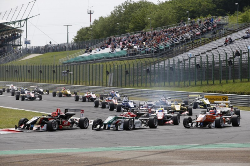 Hungary European F3: Lotus F1 protege Esteban Ocon dominates