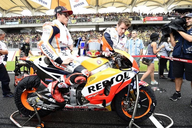 Honda won't use team orders in MotoGP title decider - Marc Marquez