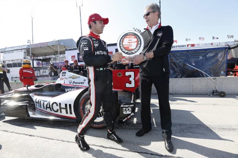 Detroit IndyCar: Helio Castroneves gives Penske home pole