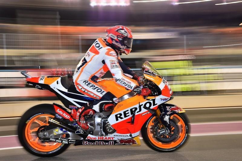 Honda's return to MotoGP test settings solves Marquez's problems