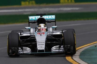 Lewis Hamilton fastest in dry third F1 practice for Australian GP