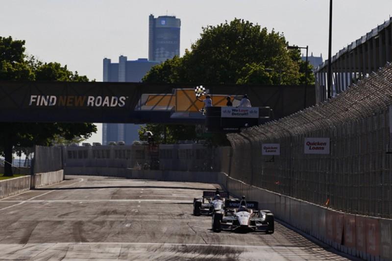 Detroit IndyCar: Will Power beats Graham Rahal to win