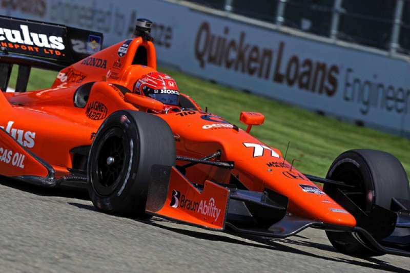 Detroit IndyCar: Simon Pagenaud ends Friday practice on top