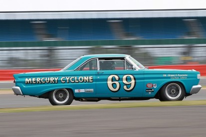 American V8s that won 1960s BTCC forerunner at Silverstone Classic