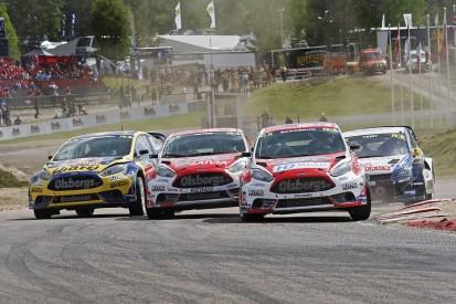 Gronholm plays down expectations on son's World Rallycross season