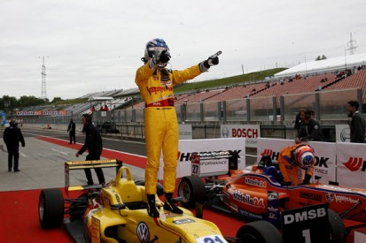 Hungaroring European F3: Tom Blomqvist charges to race one win