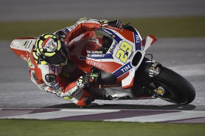 Andrea Iannone fastest for Ducati in MotoGP Qatar second practice