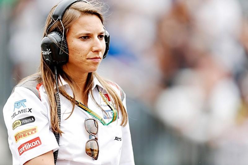 Simona de Silvestro says gender no issue in F1 racing