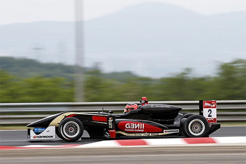 Hungaroring European F3: Ocon beats Blomqvist to race one pole