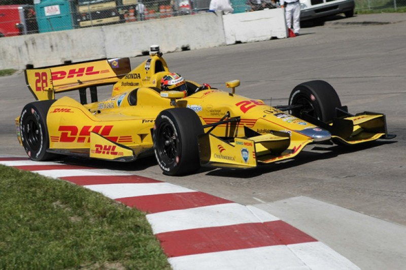 Detroit IndyCar: Ryan Hunter-Reay heads first practice