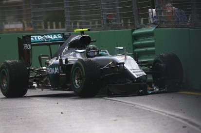 Nico Rosberg apologises to Mercedes for Melbourne practice crash