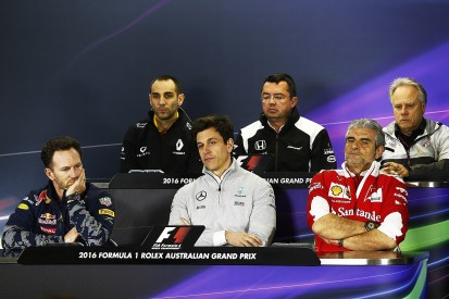 Australian GP Friday team bosses' press conference