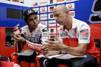 Petrucci to ride without protection on injured hand in Qatar MotoGP
