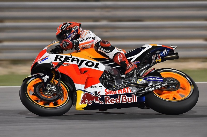 Marc Marquez hampered by electronics problem in MotoGP practice