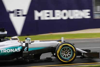 Lewis Hamilton sets pace in rain-hit first Australian GP practice