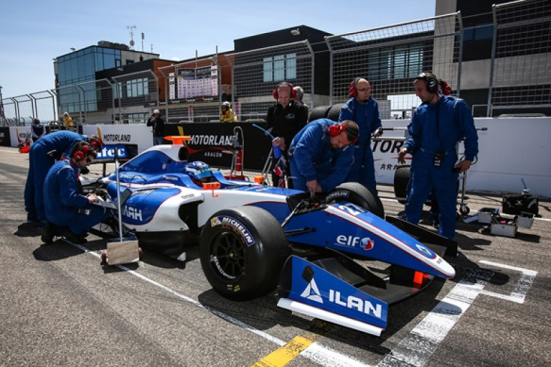 Comtec forced to withdraw from Spa Formula Renault 3.5 event