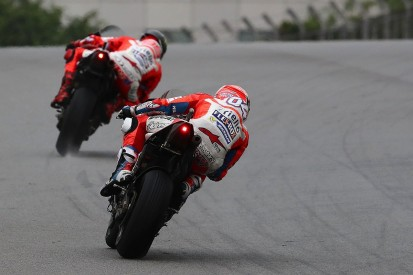 Andrea Dovizioso says he didn't ask Ducati for MotoGP team orders