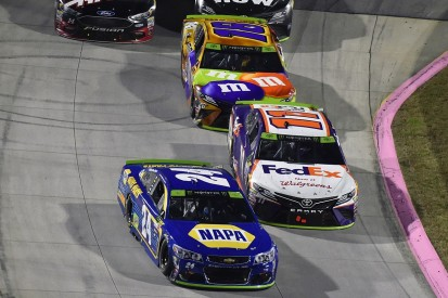 Denny Hamlin calls Chase Elliott clash part of NASCAR championship battle