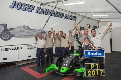 Sacha Fenestraz denies Will Palmer in 2017 Formula Renault Eurocup