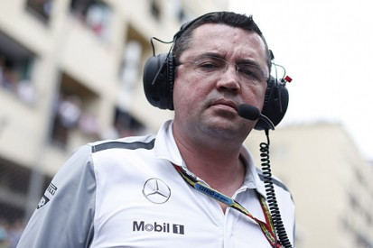 McLaren F1 team's Eric Boullier agrees with comments by Alain Prost