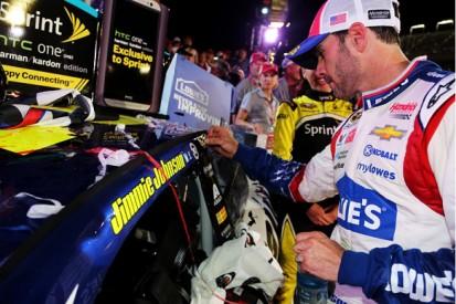 Jimmie Johnson was never worried by 2014 NASCAR winless streak