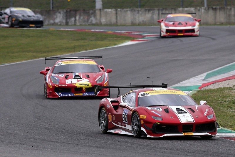 Ferrari Challenge Mugello: Laursen earns Coppa Shell victory