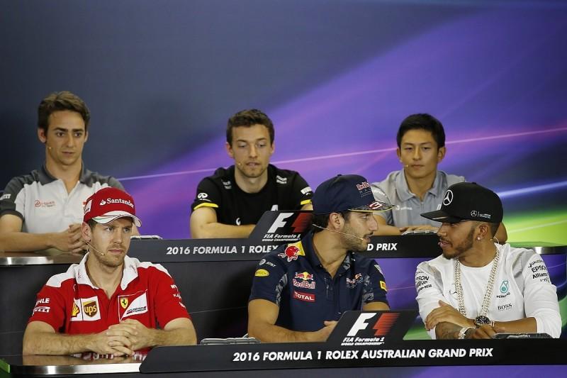 Australian GP Thursday press conference