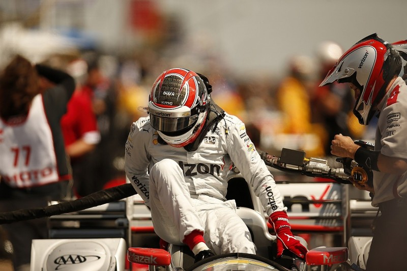No evidence that Will Power sustained concussion, says IndyCar
