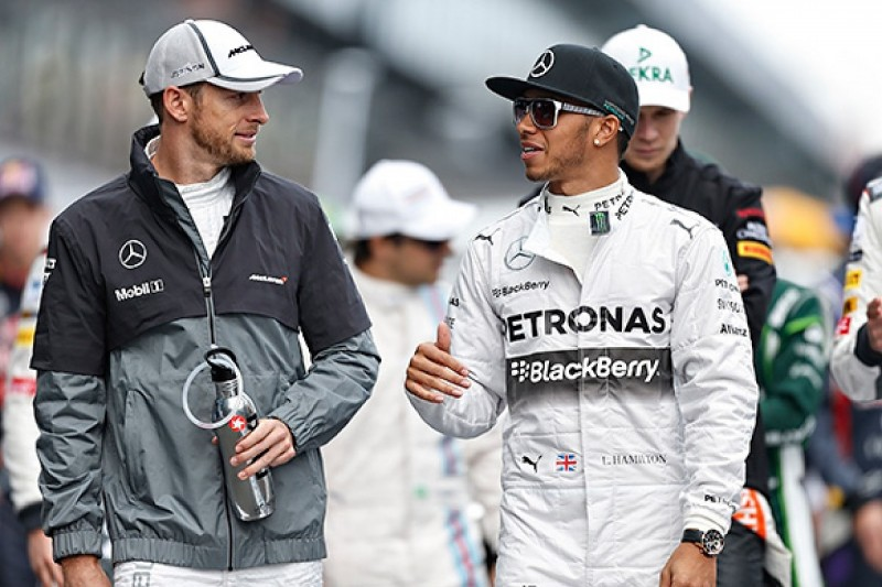 Button says Hamilton will be stronger after spat with F1 team-mate