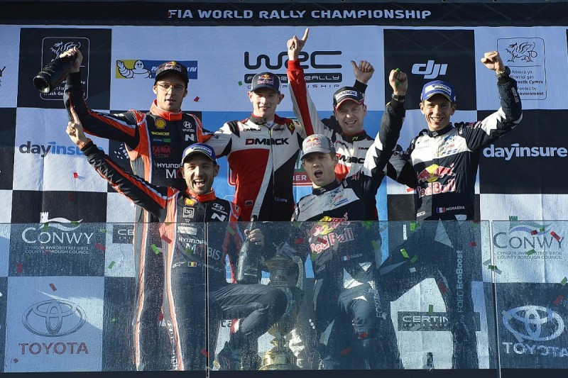 Rally GB: Ogier seals title as dominant Evans claims first win