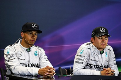 Hamilton surprised by feud with F1 team-mate Rosberg
