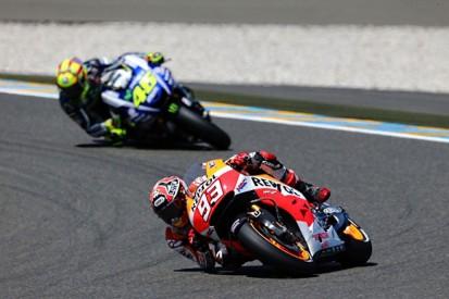 Marquez thinks Rossi can end his MotoGP winning streak at Mugello