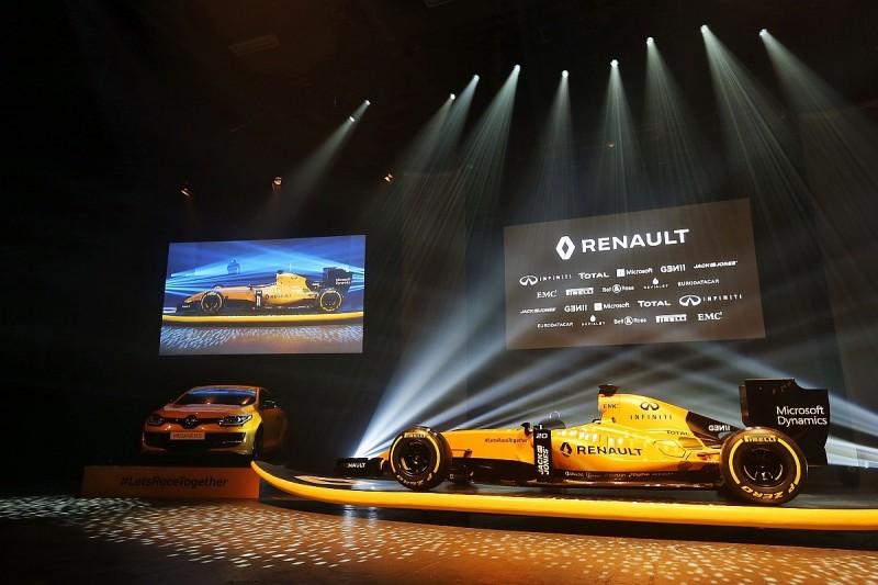 Renault reveals its definitive 2016 Formula 1 livery