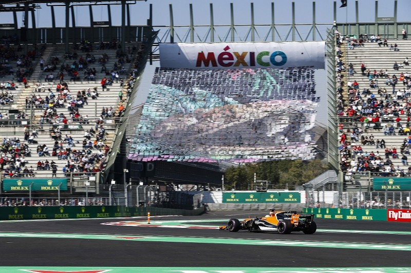 Formula 1, Mexican Grand Prix launch earthquake classroom project