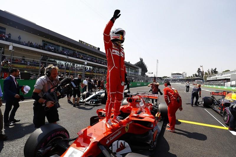 Sebastian Vettel beats Max Verstappen to Mexican GP F1 pole position