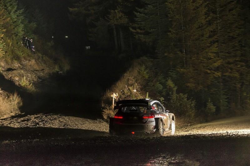 Elfyn Evans keeps lead as fog shakes up WRC top order in Rally GB