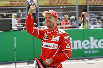 Sebastian Vettel thought he'd blown Mexican GP pole lap with error