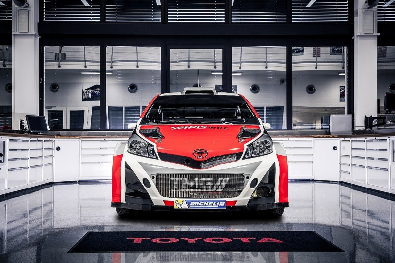Toyota's 2017 World Rally Car to make test debut in April
