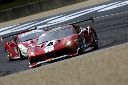 Ferrari Challenge Europe: Nielsen wins red-flagged finale